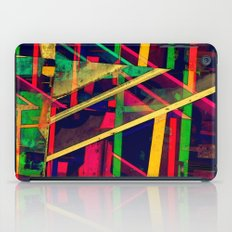 Industrial Abstract Green iPad Case