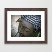 Moment of Zen Framed Art Print