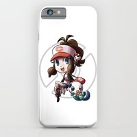 Pokemon Trainer WHITE iPhone 6 Slim Case