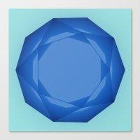 Blue Gem Canvas Print