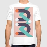 Devi Mens Fitted Tee White SMALL
