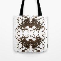 Symmetria Silver Tote Bag
