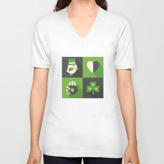 TOP O' THE MORNIN' V-neck T-shirt