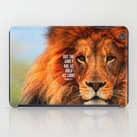 BOLD AS LIONS iPad Case