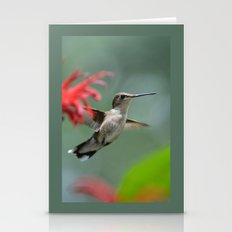 Hummingbird Flying II Stationery Cards