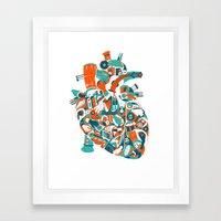 Music in your heart? Framed Art Print