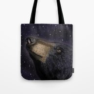 Tote Bag featuring Looking To The Stars by TMootrey