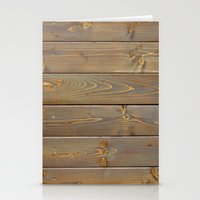wood planks boards texture background Stationery Cards
