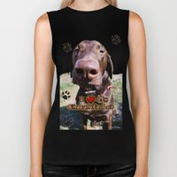 The Nose Knows Biker Tank