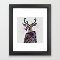 WWWW Framed Art Print