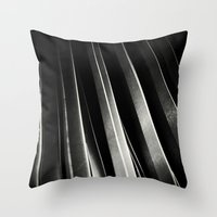 STEEL I. Throw Pillow