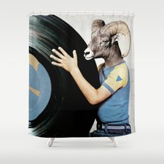 Vinyl life Shower Curtain