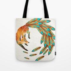 Fox Circle Tote Bag