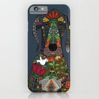 Great Dane Love Midnight iPhone 6 Slim Case