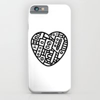 iPhone & iPod Case featuring Iron heart (B&W Edition) - PM by Pascal Mabille (PM)