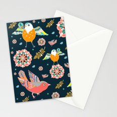 Dancing with flowers Stationery Cards