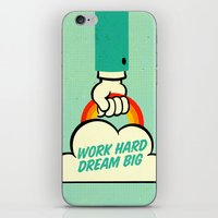 Work Hard. Dream Big. iPhone & iPod Skin