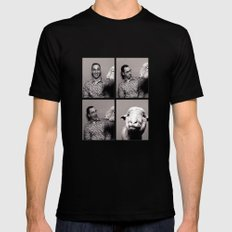 Arrested Development: Buster and Friend Black SMALL Mens Fitted Tee