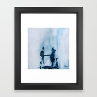 Moral Contemplations Framed Art Print