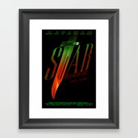 Stab (Movie Poster) Framed Art Print