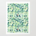 Moment Pattern Art Print