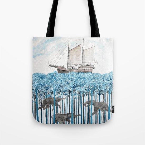Sea of Trees Tote Bag