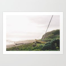 Catamaran no. 2 Art Print