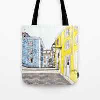 Beautiful Lisbon By Char… Tote Bag