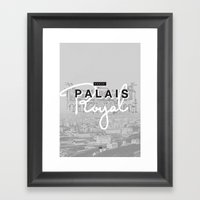 Palais Royal Framed Art Print