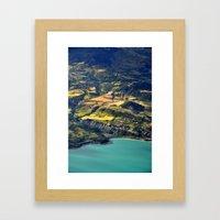 Painted Shore Framed Art Print