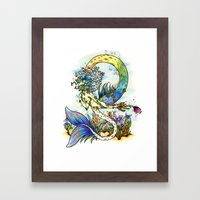 Elemental series - Water Framed Art Print
