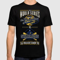 World Series 19XX SMALL Mens Fitted Tee Black