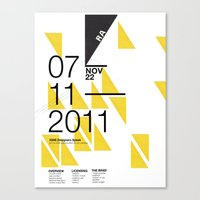 IGNS Poster Design Canvas Print
