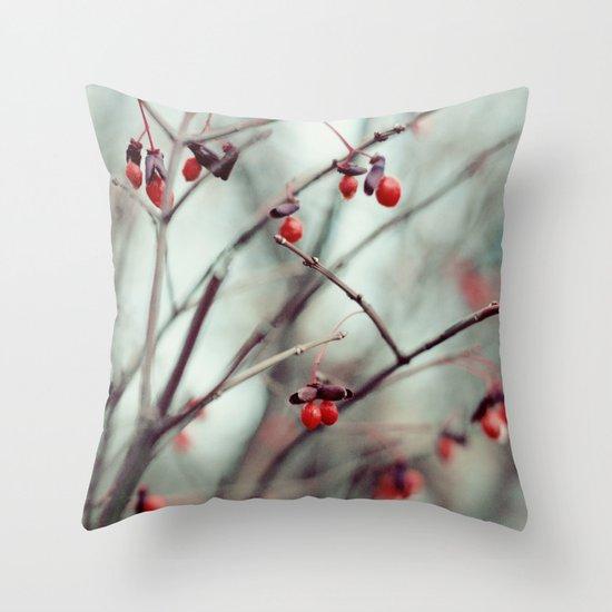 December Dream Throw Pillow