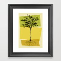 Ideas Don't Grow On Trees Framed Art Print