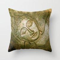 balance power Throw Pillow