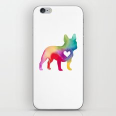 French Bulldog Love iPhone & iPod Skin