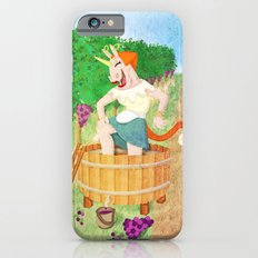 Grape Stomping Unicorn iPhone 6s Slim Case