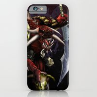iPhone & iPod Case featuring One Misunderstood Monster by Art Edel