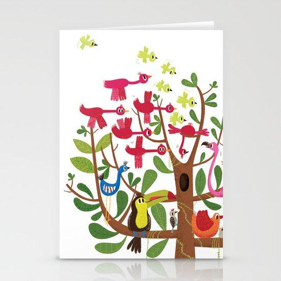 summer tree Stationery Card