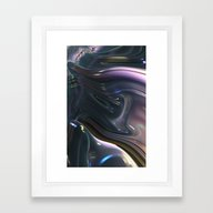 909 Fractal Framed Art Print
