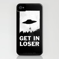 iPhone 4 Case featuring Get In Loser by moop