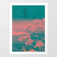Tokaido Art Print