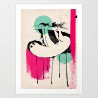 bradipo Art Print