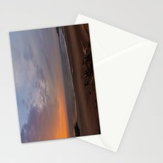 Dawn on Tynemouth Beach Stationery Cards