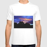 Under A Blood Red Sky Mens Fitted Tee White SMALL