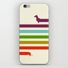 (Very) Long Dachshund iPhone & iPod Skin
