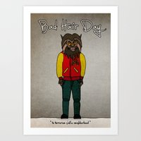 Bad Hair Day No:5 / Thri… Art Print