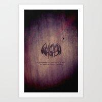 WASA3I.Rust. Art Print