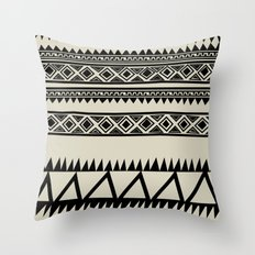 MALOU ZEBRA Throw Pillow